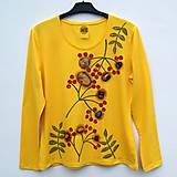 Tričká - Dámské tričko Rowan berry - 10759746_