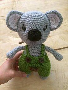 Hračky - Háčkovaná Koala - 10758357_