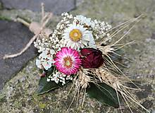 Dekorácie - Pierko pre ženícha - 10760049_