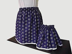 Sukne - suknička pre mamu aj pre dcérku - 10758505_