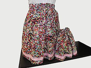 Sukne - suknička pre mamu aj pre dcérku - 10758527_