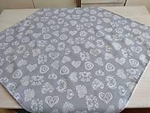 Úžitkový textil - Vitrážková záclonka - 10758680_