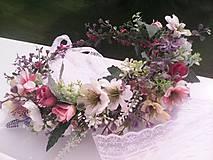 Ozdoby do vlasov - Kvetinový venček do vlasov ... voniaš letnou lúkou ... - 10758938_