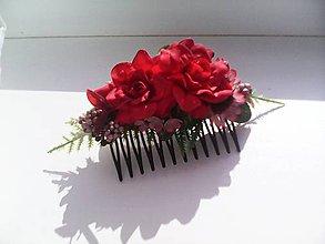 Ozdoby do vlasov - Hrebienok do vlasov ...postoj chvíľa... - 10758745_