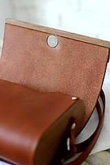 Kabelky - Kabelka na rameno CLUTCH WIDE MAGNETO BROWN - 10759261_