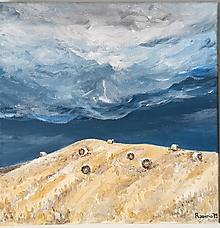 Obrazy - Originál Letná búrka - akryl na plátne - 10759058_