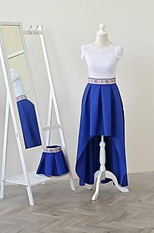 Sukne - Asymetrická sukňa s vreckami - 10758589_