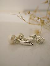 Náušnice - Mini perličky - 10760340_