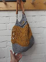 Veľké tašky - Taška pletená, grellow - 10758805_