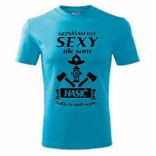 Oblečenie - Pánske tričko pre HASIČOV - 10760483_