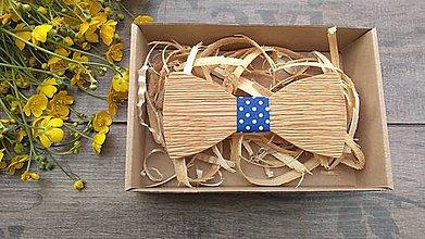 Doplnky - Pánsky drevený  motýlik - 10760924_