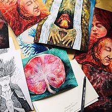 Obrazy - Art printy mojich obrazov - 10760273_
