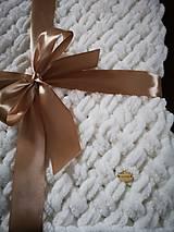Textil - Puffy deka pre bábätko - 10758979_