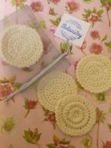 Úžitkový textil - Odličovacie tampóny Zero waste - 10759843_