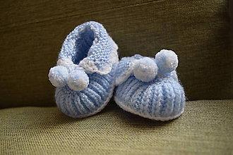 Topánočky - Detské papučky - 10759785_