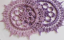 Úžitkový textil - Háčkovaná dečka Irene - 10760565_