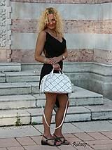 Kabelky - Kožená kabelka Marilyn - 10760355_