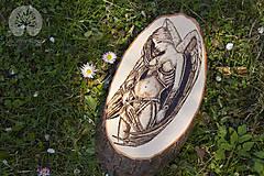 Dekorácie - Bojový anjel - 10759826_