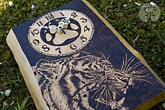 Hodiny - Biely tiger - hodiny - 10760874_
