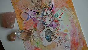 Kresby - Luční víla - 10758952_