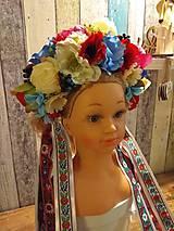 Ozdoby do vlasov - Ľudová parta - 10759956_