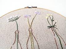 Obrázky - Obrázok s poľnými kvetmi - 10759269_
