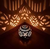 Svietidlá a sviečky - záhradný svietnik - 10760775_