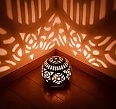 Svietidlá a sviečky - záhradný svietnik - 10760777_