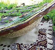 Nádoby - Keramická misa - vlčie maky - 10758867_