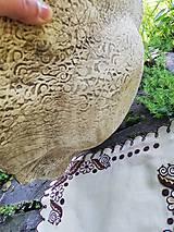 Nádoby - Keramická misa - vlčie maky - 10758875_