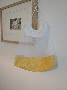 """Úžitkový textil - Bez obalu, nákupné vrecko stredné (Žlté, """"square"""") - 10760885_"""