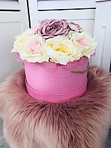 Dekorácie - Kvetinový box - 10761327_