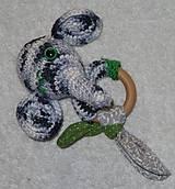Hračky - Slonie hrkham - 10762176_