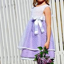 Detské oblečenie - šaty PRINCESS pre družičky - 10762115_
