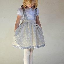 Detské oblečenie - sukňa BODKOVANÁ na traky s MAXIVRECKAMI - 10762271_