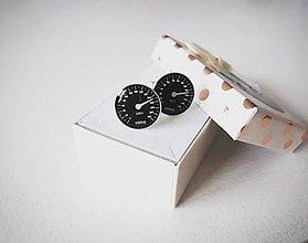 Šperky - Manžetové gombíky tachometer - 10761501_