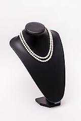 Náhrdelníky - perlový náhrdelník - shell perly - 10761447_