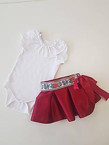 Detské oblečenie - Detská zavinovacia sukňa - 10762371_