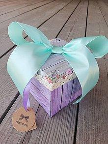 Papiernictvo - Krabička na peniaze - svadobna