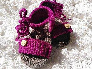 Topánočky - Kitty (3-6 mes.) - 10762040_