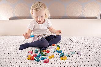 Hračky - Korálky na navliekanie PODMORSKÝ SVET - 10762661_