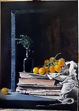 Obrázky - Čierna váza (bez rámu) - 10761786_