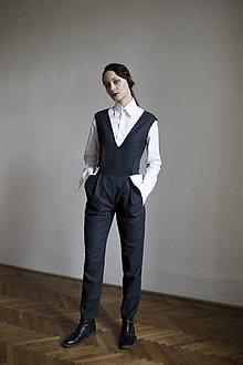 """Nohavice - Vlnenný overal z kolekcie """"PIZZA OR CAVIAR?"""" - 10761435_"""