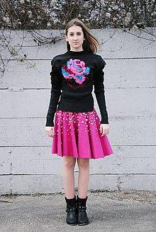 """Sukne - ZĽAVA! Perlová sukňa z kolekcie """"IDENTITA"""" - 10761475_"""