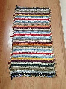 Úžitkový textil - Koberec - behúň (1) - 10760936_