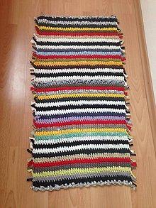 Úžitkový textil - Koberec - behúň (3) - 10760944_