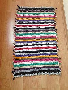 Úžitkový textil - Koberec - behúň (4) - 10760950_