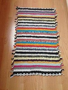 Úžitkový textil - Koberec - behúň (6) - 10760955_