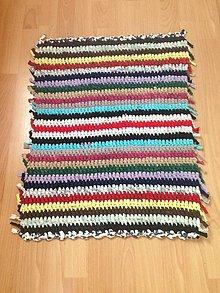 Úžitkový textil - Koberec - behúň (9) - 10761653_