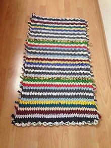 Úžitkový textil - Koberec - behúň (13) - 10761822_